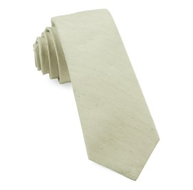 Sage Green Linen Row ties
