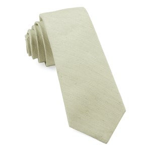 linen row sage green ties