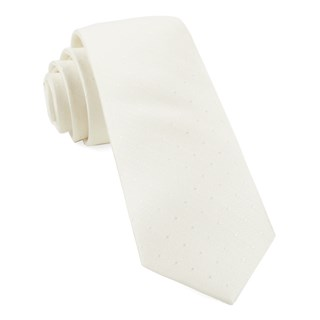 Love At First Dot Ivory Tie