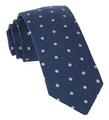 "Dotted Hitch - Classic Blue - 2.5"" x 58"" - Ties"