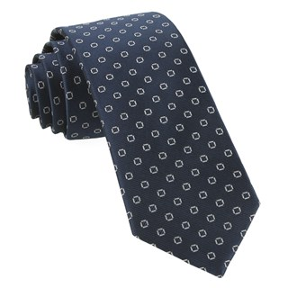 junction geos navy ties