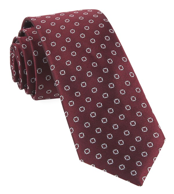 Junction Geos Burgundy Tie