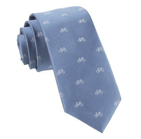 Two-wheeler Bicycle Slate Blue Ties