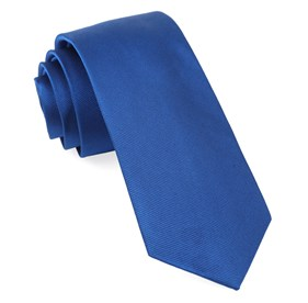 Royal Blue Grosgrain Solid boys ties