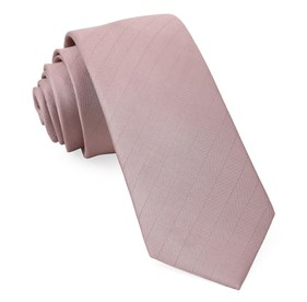 Mauve Stone Herringbone Vow boys ties