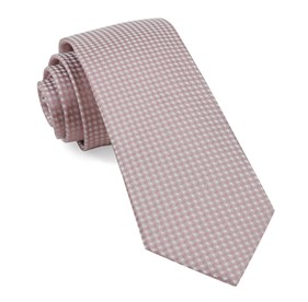 Mauve Stone Be Married Checks ties