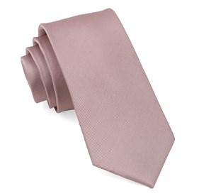 Mauve Stone Grosgrain Solid boys ties