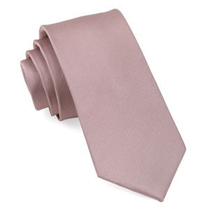grosgrain solid mauve stone boys ties
