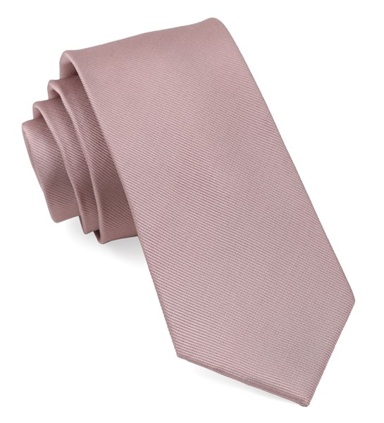 Mauve Stone Grosgrain Solid Tie Ties Bow Ties And