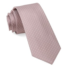 Mauve Stone Mini Dots ties