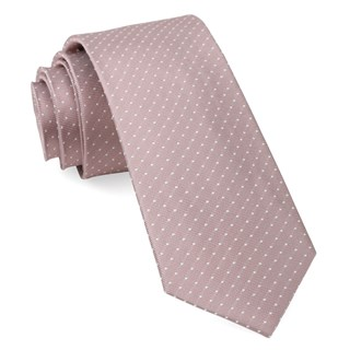 mini dots mauve stone ties