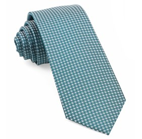 Teal Be Married Checks ties