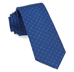 Royal Blue Sparkler Medallions ties