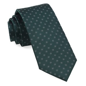 sparkler medallions hunter green ties