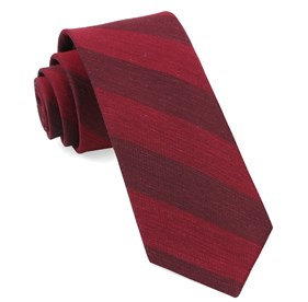 Burgundy Rsvp Stripe ties