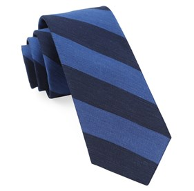 Navy Rsvp Stripe ties