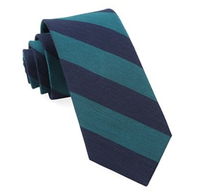 Rsvp Stripe Teal Ties