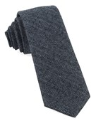 Ties - Blue Ridge Herringbone - Midnight Navy