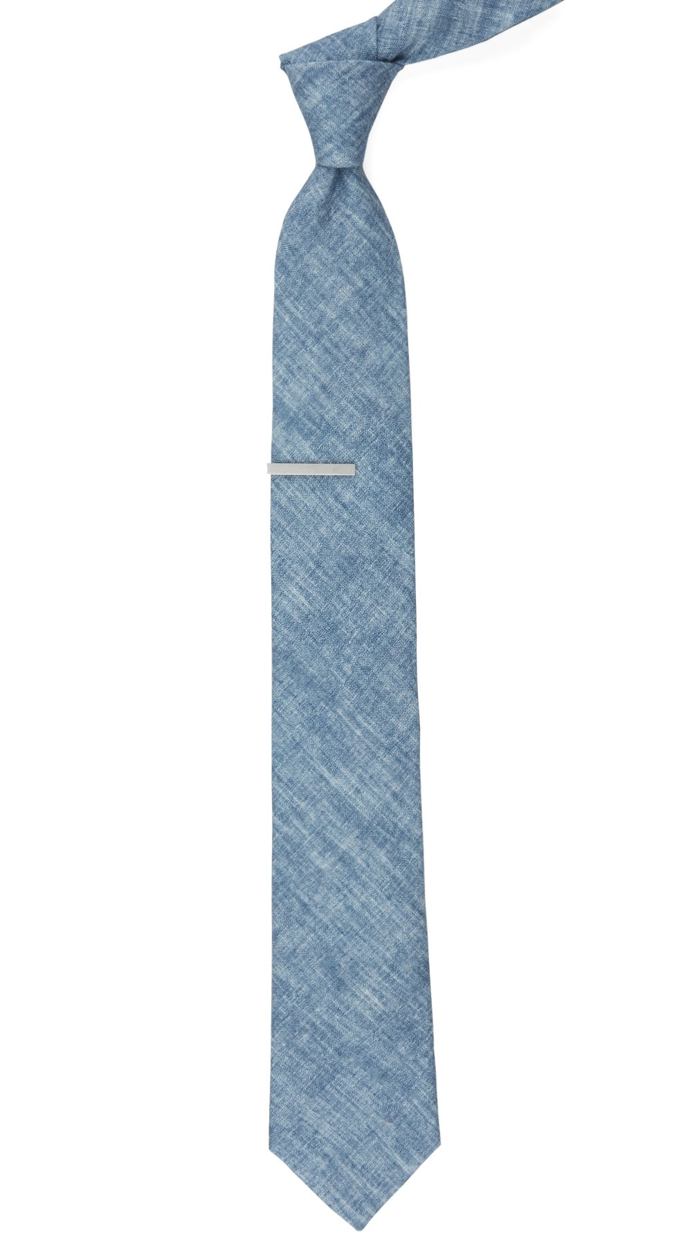 Classic blue freehand solid tie ties bow ties and pocket squares classic blue freehand solid tie classic blue freehand solid tie ccuart Image collections