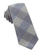 Ties - Tebo Plaid - Navy