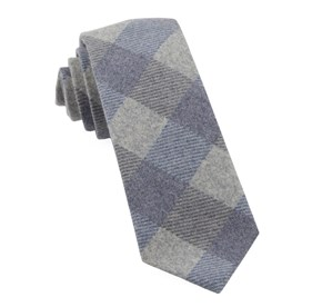Navy Tebo Plaid ties