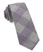 Ties - Tebo Plaid - Plum