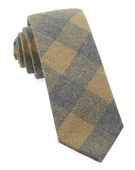 Ties - Tebo Plaid - Mustard
