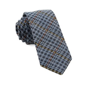 Light Blue Quinn Plaid ties