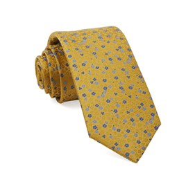 Yellow Flower Fields ties