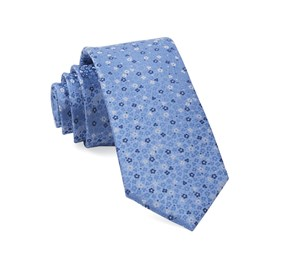 Light Blue Flower Fields ties