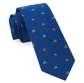 Camp Out Royal Blue Ties