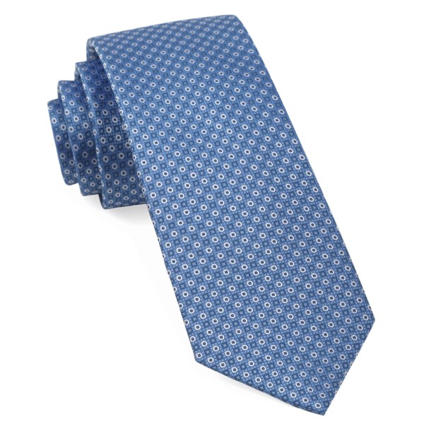 Light Blue Market Geos Tie