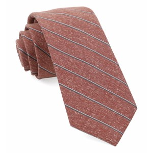 pike stripe orange ties