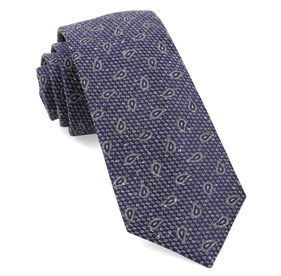 Purple Pine Lake Paisley ties