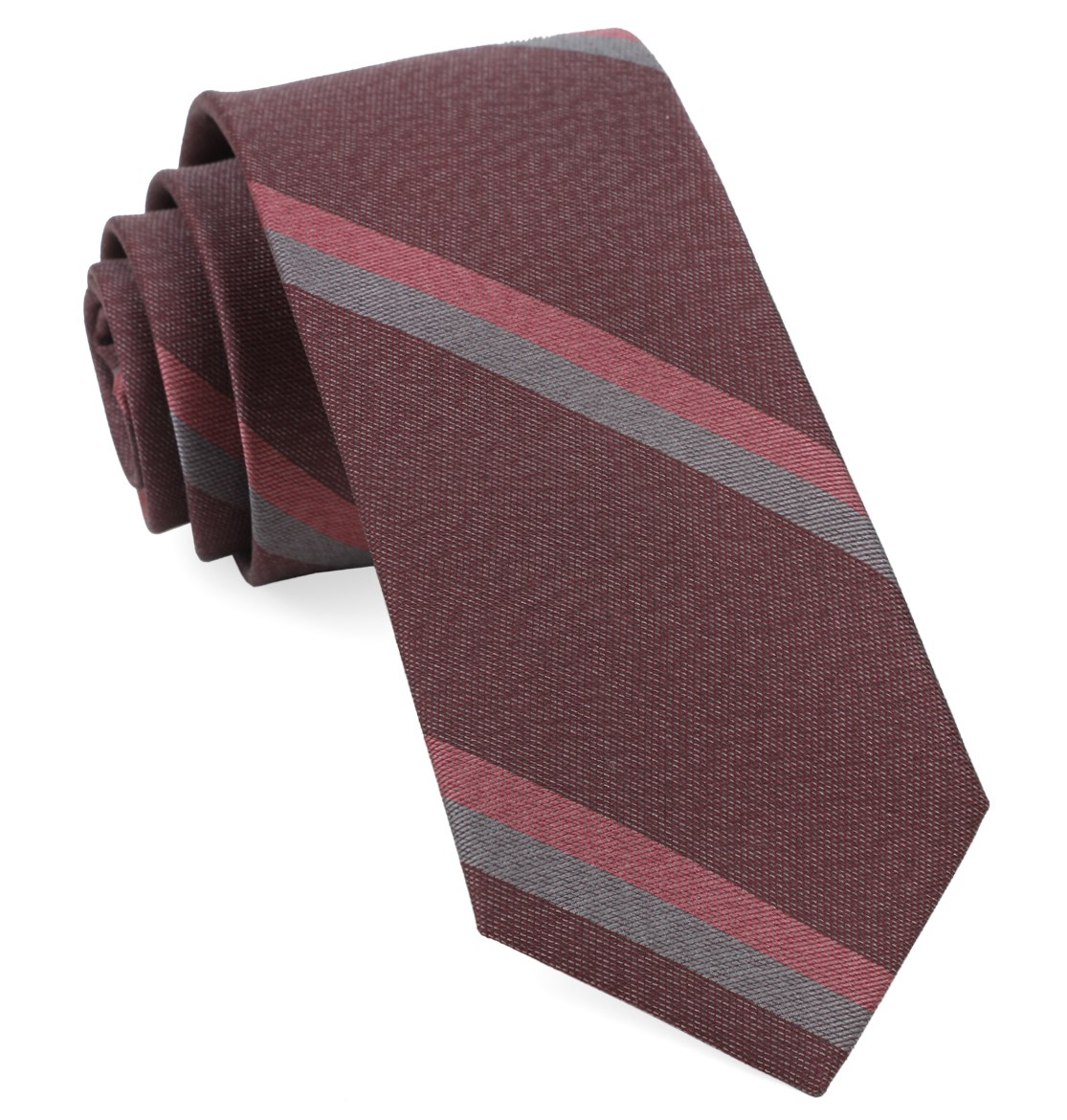 SLB Stripe in Burgundy