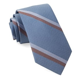 Slb Stripe Light Blue Ties