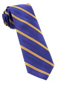 Ties - Pipe Dream Stripe - Plum