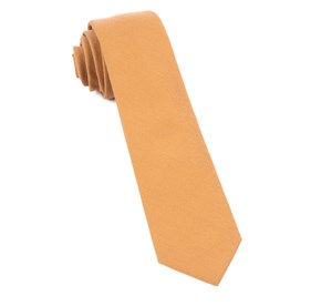 Mustard Solid Wool ties