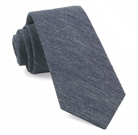 West Ridge Solid Navy Ties