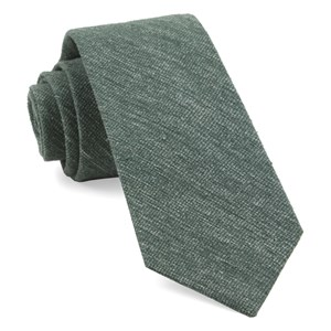 west ridge solid hunter green ties