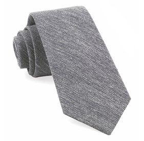 West Ridge Solid Grey Ties