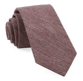 Burgundy West Ridge Solid ties