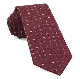 Burgundy Bond Geos ties