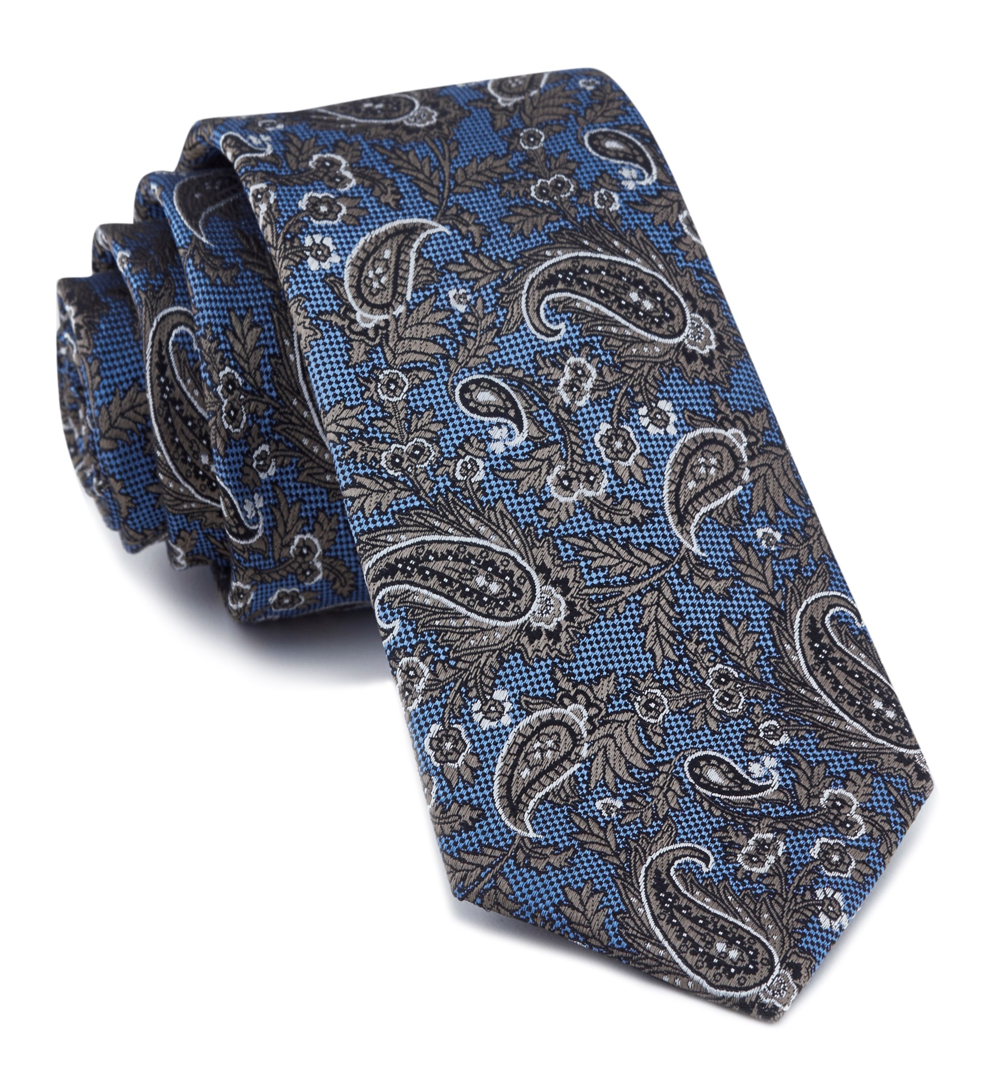 Light Blue Concord Paisley Tie Men S Ties The Tie Bar