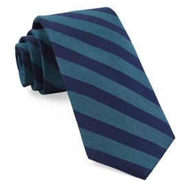 Teal Lumber Stripe ties