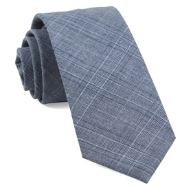 Grey Smithtown Plaid ties
