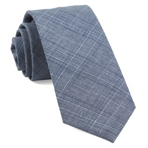 smithtown plaid grey ties