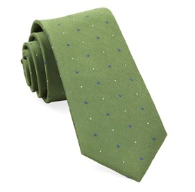Green Delisa Dots ties