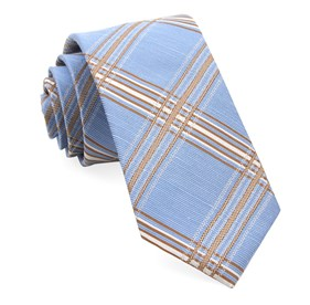 Light Blue Kp Plaid ties