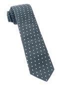 Ties - Corduroy Dots - Black